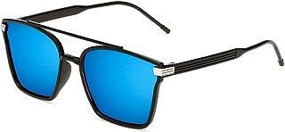 KINDOYO - Gafas de sol cuadradas cuadradas de gran tamaño para mujer y hombre UV400 preferidas