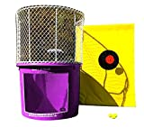 Dunk Tank - Purple Portable Dunking Booth - Easy Dunker 2 with Window - Commercial Grade Water Game - Trailer-Mounted for Easy Transportation (Wingless Design)