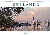 Sri Lanka, tropisches Inselparadies (Tischkalender 2022 DIN A5 quer): Endlose Straende mit Kokospalmen, historische Kultur und gruene Teeplantagen - Sri Lanka verzaubert durch seine Vielfalt. (Monatskalender, 14 Seiten )