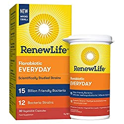 HIGH POTENCY 15 BILLION FRIENDLY BACTERIA - One a day formula. Vegetarian, and free of gluten, soy and dairy BACKED BY YEARS OF HEALTH RESEARCH AND SCIENCE – Contains 12 scientifically studied and diverse Bifidobacterium and Lactobacillus strains. Wi...
