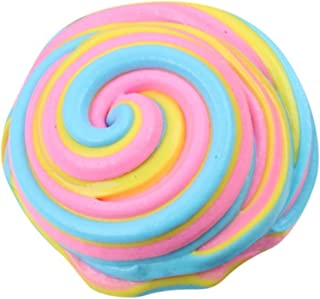 SMTSMT CBeautiful Color Cloud Slime Squishy Putty Scented Stress Kids Clay Toy