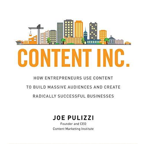 Content Inc. audiobook cover art