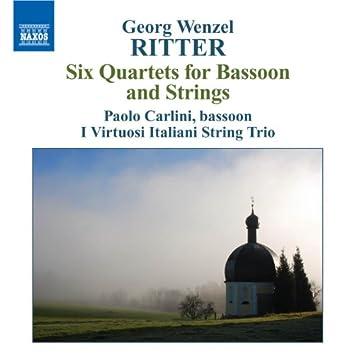 RITTER, G.W.: Bassoon Quartets, Op. 1
