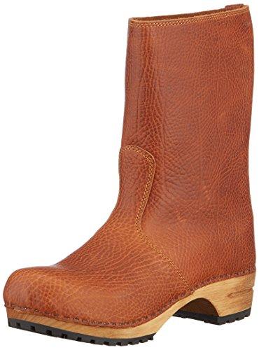 Sanita Damen Wood puk Boot Schlupfstiefel, Braun (Cognac 15), 41 EU