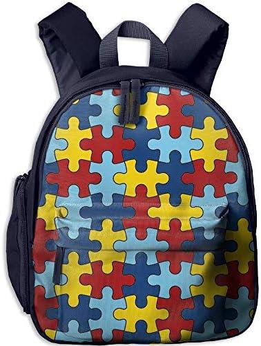 SHARP-Q Funny Skull Kids Lightweight Canvas Travel Backpacks School Book Bag