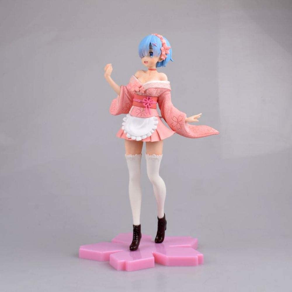 Japan Maker New BURNING Anime Hero Cherry Blossoms Toys Kansas City Mall Collec Rem Figure Action