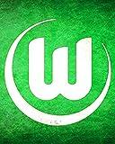Nalana Poster Wolfsburg Football UH-445 Bar Living Room