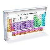 ZTGHS Tabla Periódica De Acrílico Pantalla De Elementos Elementos Químicos Tabla De Elementos...