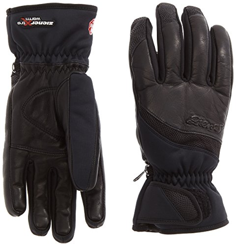 Ziener Damen Handschuhe Kalifornia WS PR Lady Gloves, Black, 7
