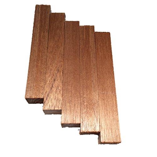 Spanish Cedar Pen Blanks 5 - Pack