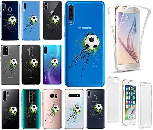 KX-Mobile Hülle für iPhone 7/8 / SE 2020 Handyhülle Motiv 2486 Fussball Premium 360 Grad Fullbody Softcase HandyCover Schutzhülle Handyhülle für iPhone 7/8 / SE 2020 Hülle