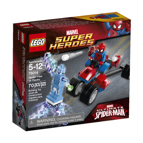 LEGO Superheroes 76014 Spider-Trike vs. Electro by