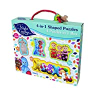 A colourful and fun 4 in 1 In the Night Garden Shaped Puzzle Set Includes 4-piece, 8-piece, 10-piece and 12-piece puzzles Building puzzles encourages concentration, hand-eye coordination and problem solving Stars the colourful characters Igglepiggle,...