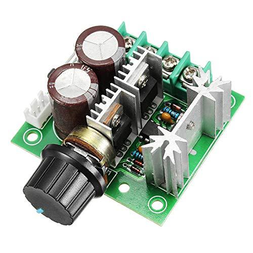 Módulo electrónico Bomba del controlador de velocidad del motor STEPLESS VELOCIDAD Cambio de velocidad Interruptor de control de velocidad grande 50V 1000UF Capacitor grande IRF3205 TUBO DE ALIMENTACI