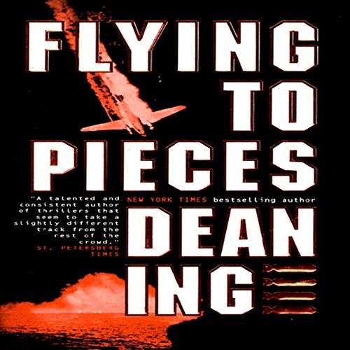 Flying to Pieces audiobook cover art