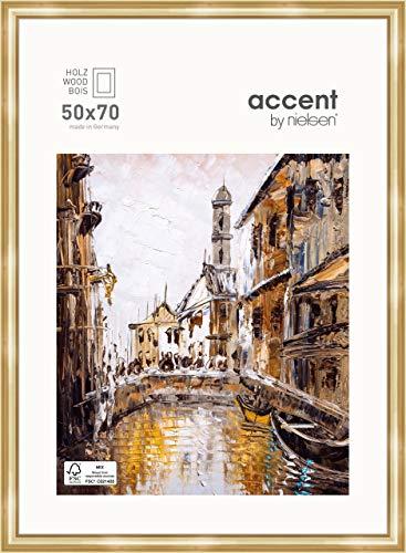 Nielsen Accent Holz Bilderrahmen Antigo, 50x70 cm, Gold