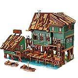 OATop Bloques de construcción modular para casa – 2745 piezas para pescar, bloques de construcción para arquitectura, juego de construcción personalizado, compatible con Lego