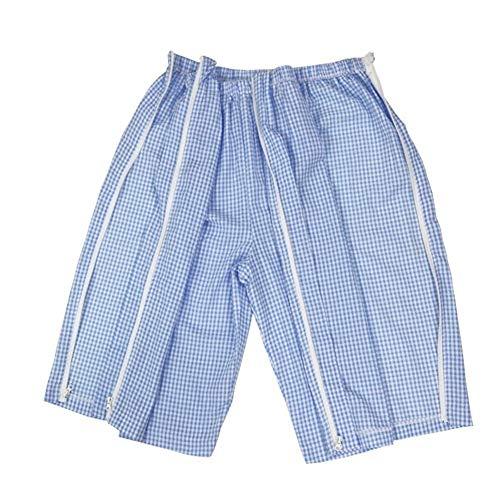 Inkontinenz-Unterwäsche, Überhose mit Reißverschluss-Design für Inkontinenzunterwäsche, Parlyse, postoperative Rehabilitation bei Frakturen Discap.