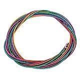 Cuerdas de bajo duraderas 1.16 mm 1.44 mm 2.0 mm 2.54 mm Cuerdas de bajo eléctrico Coloridas de 4 Cuerdas Cuerdas de Instrumentos