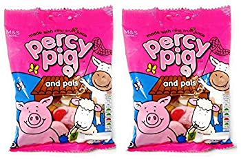 Marks & Spencer | Percy Pigs and Pals | 2 x 170g Bags | REDUCED FOR BLACK FRIDAY SALES WEEK!