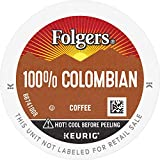 Folgers 100% Colombian Medium Roast Coffee, 128 Keurig K-Cup Pods