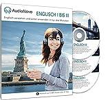 AudioNovo Englisch I, II und III - Schnell und einfach Englisch lernen für Erwachsene (inklusive mobile App, Audio-Sprachkurs Englisch für Anfänger und Fortgeschrittene, 42Std) -