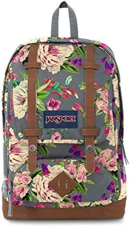 JanSport Cortlandt Backpack Grey Bouquet product image
