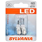SYLVANIA - 2825SL.BP2 - 2825 T10 W5W LED White Mini Bulb - Bright LED Bulb, Ideal for Interior Lighting - Map, Dome, Cargo and License Plate (Contains 2 Bulbs)