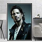 Amrzxz Rompecabezas de 1000 Piezas『Popular Cantante-Chris Cornell』Regalo de Rompecabezas para niños Adultos