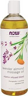 Now Foods Lavender Almond Massage Oil - 16 fl. oz. 3 Pack