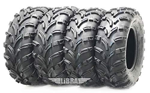 Set 4 ATV Tires 25x10-12 & 25x11-12 for 10-13 Polaris Ranger 800...