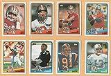 1988 Topps Football Complete 396 Card Set Nrmt/Mt Bo Jackson Rookie