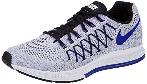 Nike Air Zoom Pegasus 32, Scarpe da Ginnastica Uomo, Bianco (White/Concord/Black), 46 EU