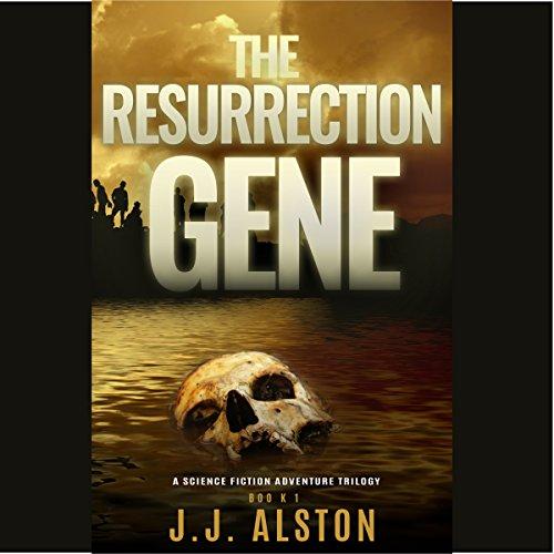 The Resurrection Gene audiobook cover art