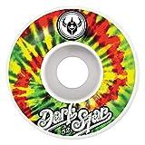 Darkstar Insignia Skateboard-Räder, Rasta, 52 mm