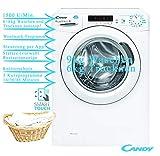 Candy Waschtrockner Waschmaschine 9kg Wäschetrockner 6kg 1500 U/Min Woolmark Programm Knitterschutz Startzeitvorwahl