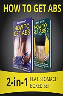How to Get Abs: 2-in-1 Flat Stomach Boxed Set