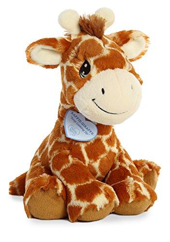 """Aurora - Precious Moments - 12"""" Raffie Giraffe, Brown, Medium"""