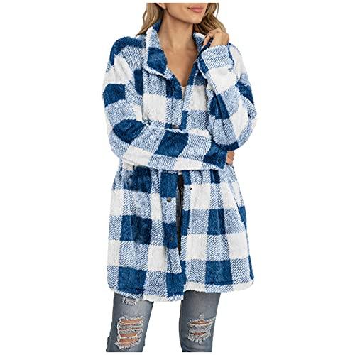 Women's Loose Ruffle Hem Short Sleeve High Low Peplum Blouse Top Blue