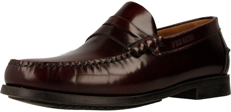 Privata Men's Loafers, Colour Bordeaux, Brand, Model Men's Loafers EX 13655 Bordeaux