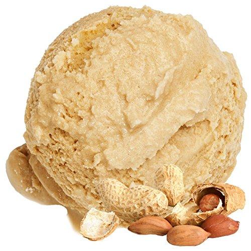 Gino Gelati Erdnussgeschmack Eiscreme weiches Pulver 1: 3 - 1kg