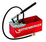 Rothenberger 60250 TP25 Compression Test Pump, Max Pressure 25 bar/363 psi
