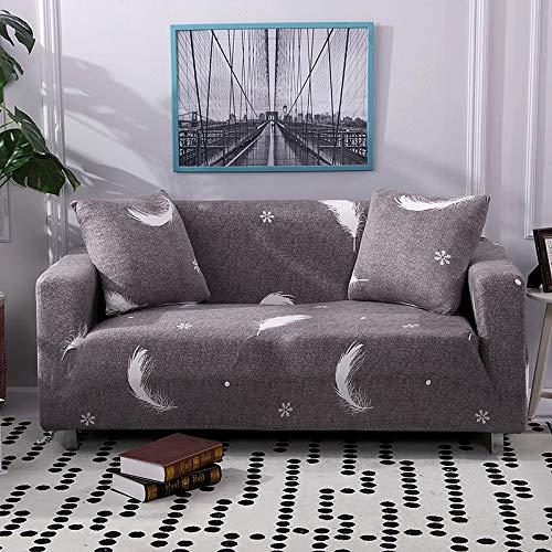 Fundas de sofá elásticas a cuadros para sala de estar, protector de muebles antideslizante, calidad duradera, resistente a las arrugas A3 1 plaza