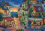 ZXXCV Rompecabezas Adultos 1000 Piezas - Noche de Paris - Rompecabezas clásico de Madera DIY Set Juguete Regalo 3D Super difícil Rompecabezas Regalo de cumpleaños decoración del hogar