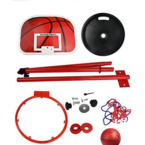 LXLTLB Canasta de baloncesto de baloncesto con anillo y red para oficina, juego infantil, para colgar al aire libre