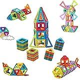 McDou Bloques de Construcción Magnéticos, Conjunto de Construcción Magnética,3D Bloques de Construccion Imantados con Inspira Set Estándar de Construcción Creativos y Educativos para Niños (80PCS)