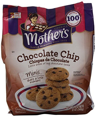 Mother's Chocolate Chip Cookies, 14-Ounce Bags (Pack of 4)
