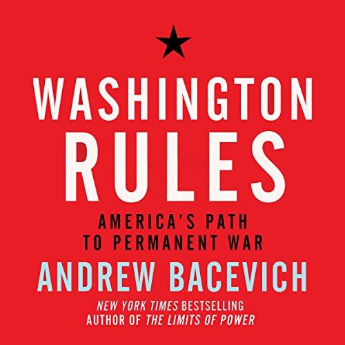 Washington Rules audiobook cover art