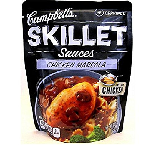 Campbell's Skillet Sauce- Marsala with Mushroom and Garlic (Pack of 3)