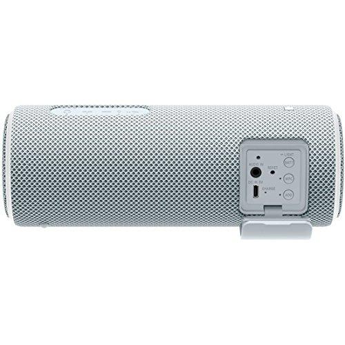 ソニーワイヤレスポータブルスピーカーSRS-XB21W:防水/防塵/防錆/Bluetooth/専用スマホアプリ対応ライティング機能2018年ホワイト